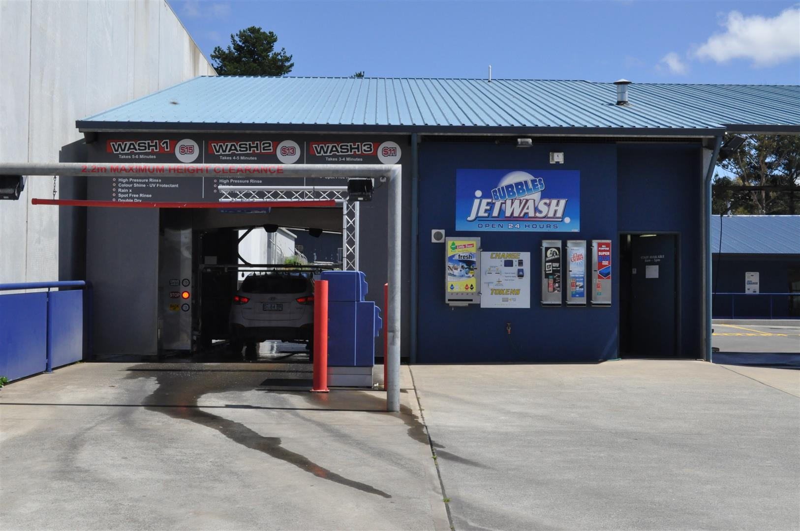 Brushless car wash Kingston